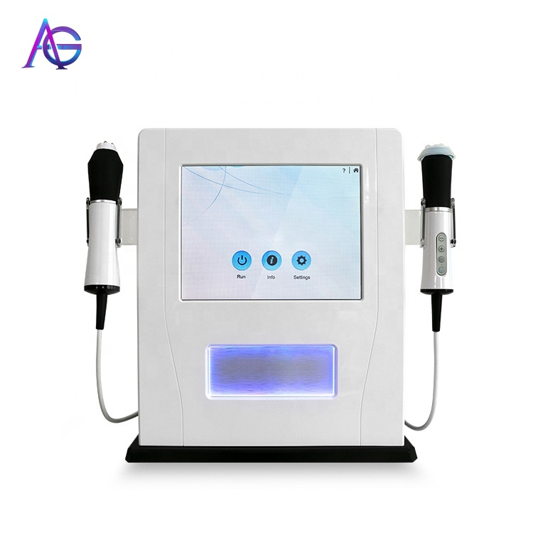 Portable 2 In One CO2 Bubble Oxygen Machine Electric Oxygen Facial Machine
