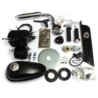 50cc 2 Stroke Cycle Motorized Bike Bicycle Black Body Engine Motor Parts Kit 2019 New