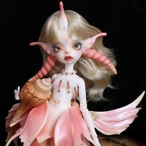 Image 3 - Shuga Fairy 1/4 Uzoi BJD Dolls Resin Model Fashion Figure Toys For Girls boys gift Dolls