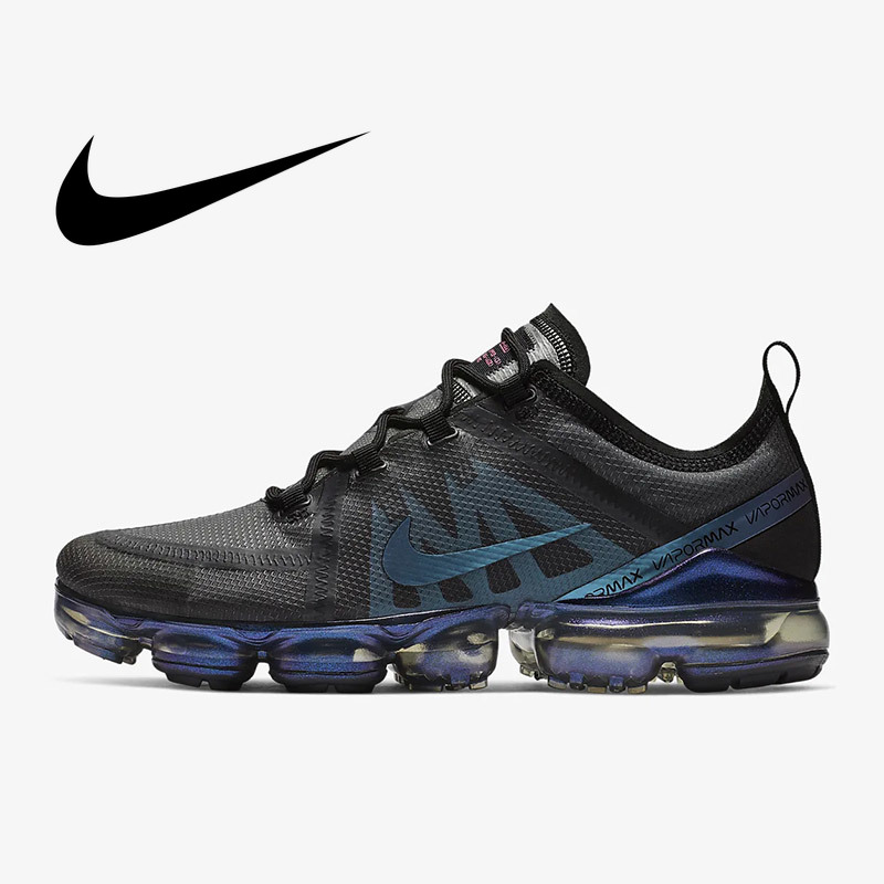 Original Authentic Nike Air VaporMax 2019 Mens Running Shoes Breathable Outdoor Sneakers Athletic Designer Footwear AR6631-001