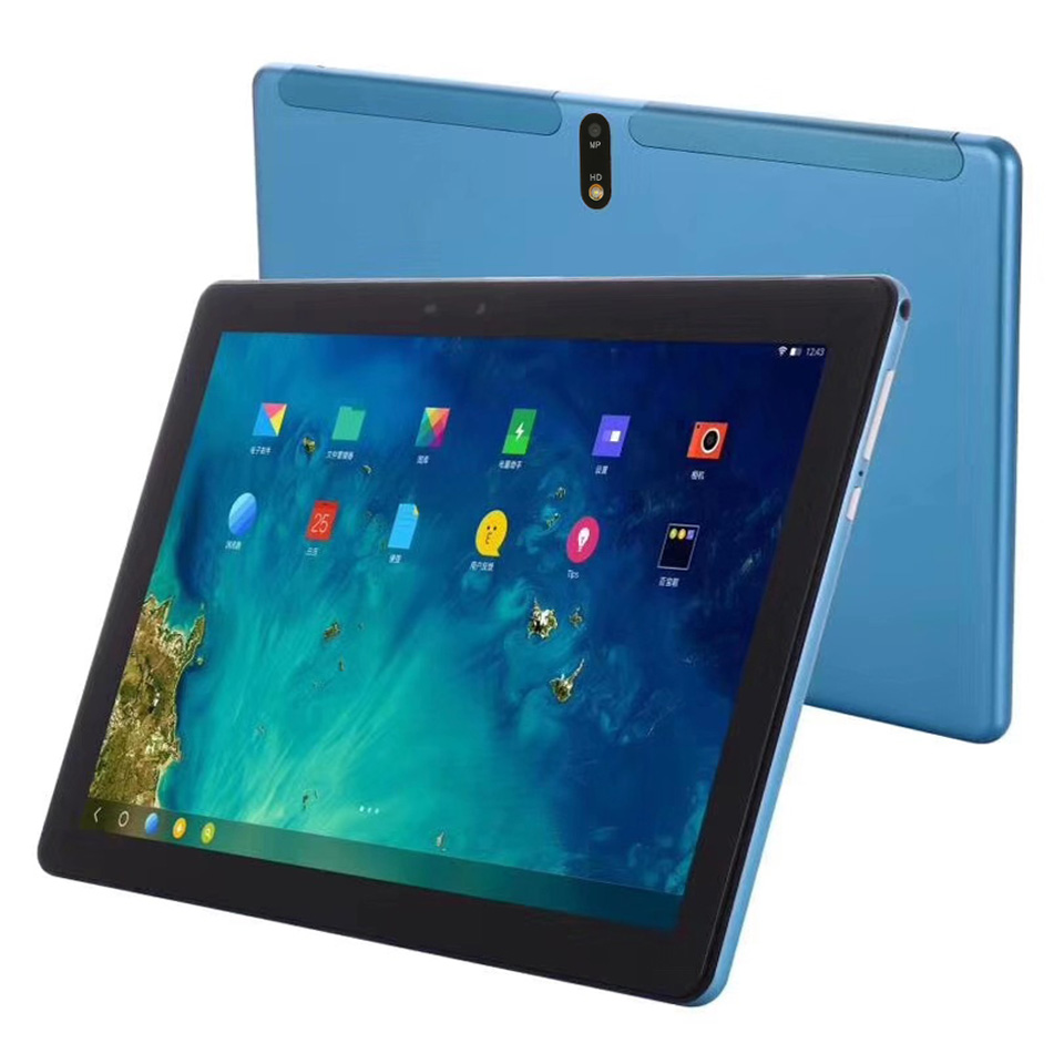 Tablet PC Tablet 10.1 Android 9 Octa Core Google Play The Tablets 4GB RAM 64GB\128gb ROM  Camera 13.0mp Cpu Mtk6762 Type-c Port