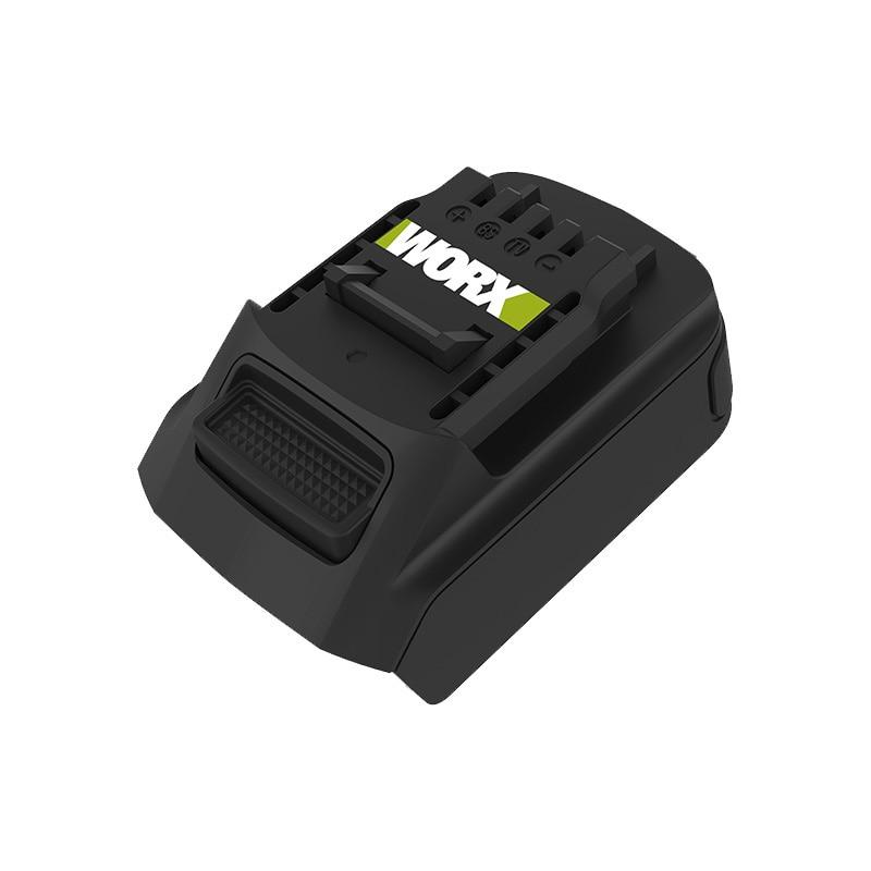 WORX Lithium Battery Adapter WA4600 20V Green Adapter