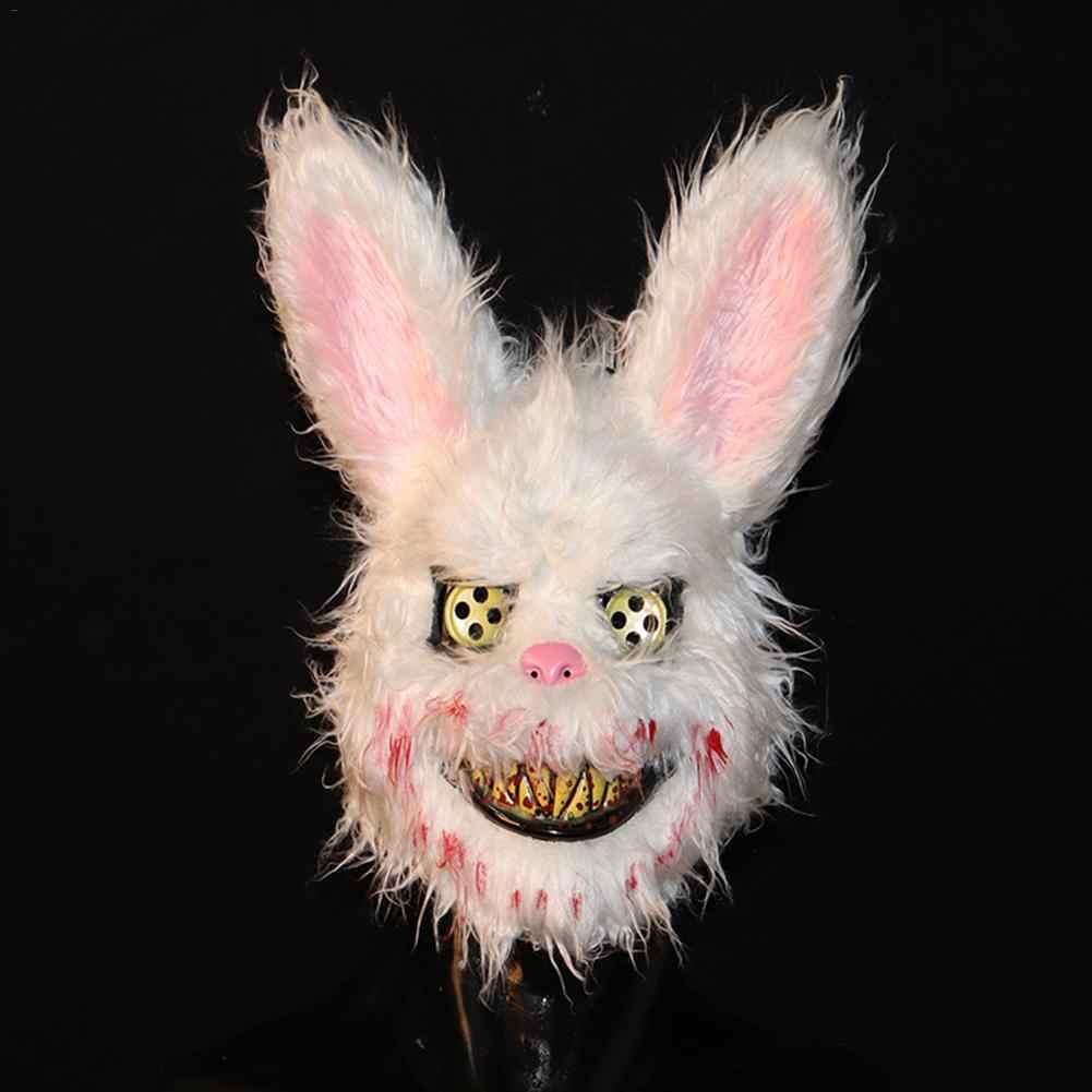 Хэллоуин ужас плюшевые маски шалость злой кровавый маска кролика животных