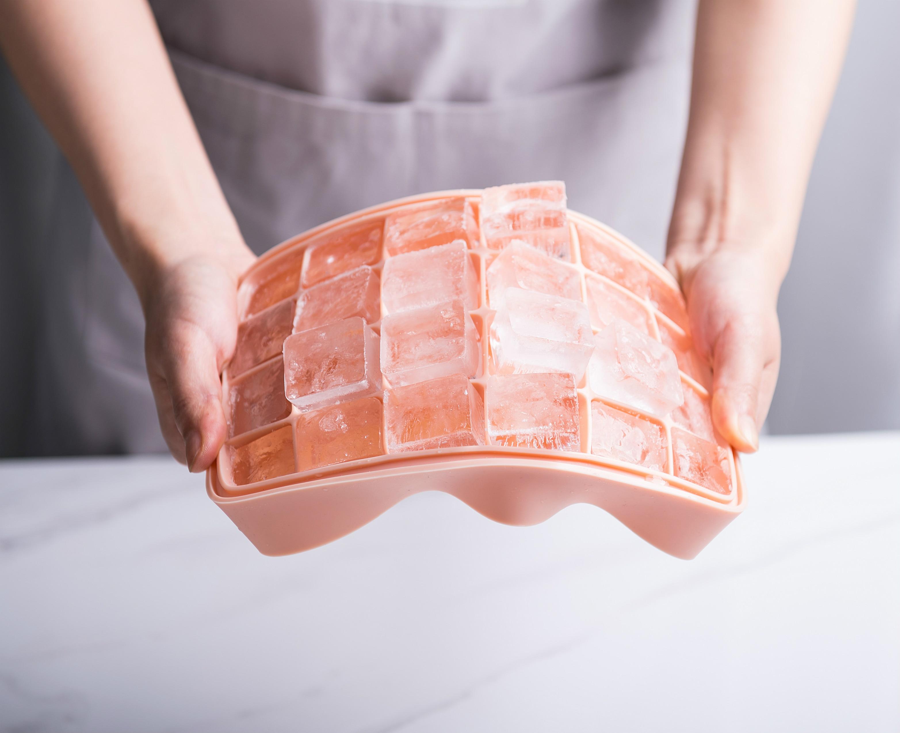 96 Grilles plastique bac à glaçons Grand Moule géant Maker Carré Cuisine Outil S