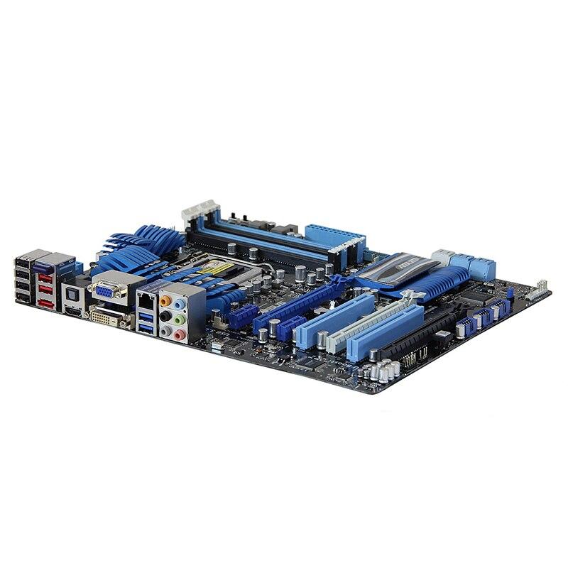 Original For ASUS P8Z68-V/GEN3 Desktop motherboard Z68 LGA 1155 ATX DDR3 32GB SATA3.0 USB3.0 PCI-E 3.0 100% fully Tested 8
