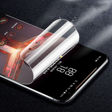 Full Cover Matte Hydrogel for  ASUS Rog Phone 2 Screen Protector on the for ASUS Rog Phone 2 ZS660KL Matte TPU Protective Film protective matte arm screen guard film for asus memo pad fhd 10 me302c transparent 3 pcs