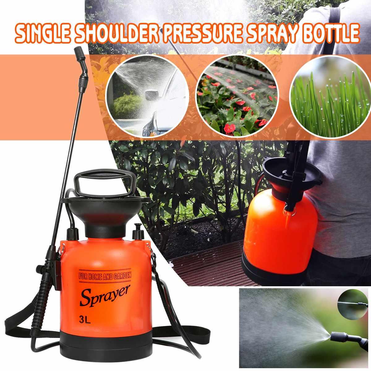Садовый распылитель тип воздушного давления с плечевым ремнем для сельского хозяйства садовый инструмент использовать садовый распылитель давления 0,8 галлонов
