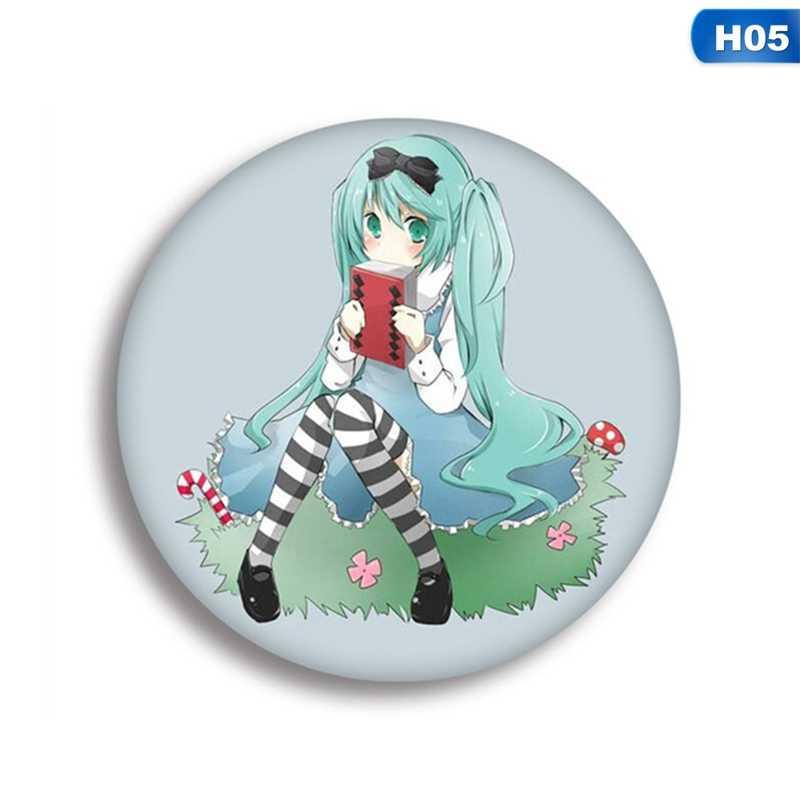 애니메이션 배지 코스프레 배지 Vocaloid 린 렌 브로치 핀 컬렉션 배지 배낭 의류