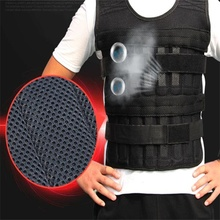 Empty Invisible weighted vest Adjustable Capacity 15kg Physical training sand bag Weight-bearing sandbag without Steel plate cheap Sandbag Category 8 Years K19107H Breathable mesh+inner cotton without Steel plate if need pls contact us only empty vest