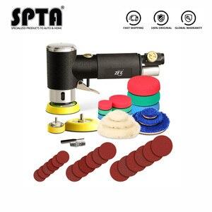 """Image 2 - SPTA ponceuse à orbite aléatoire 1 """"/2""""/3 """", Mini ponceuse pneumatique, pour le polissage des voitures, polisseuse à Air haute vitesse"""