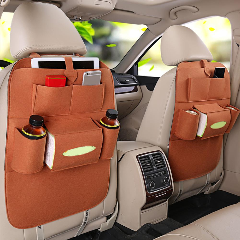 Car Storage Bag Universal Seat Back Hanging Organizer Bag Car-styling ProtectorAuto Accessories For Kid