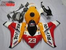 Motorcycle Fairing Kit For Honda CBR1000RR 2008-2011 Injection ABS Plastic Fairings CBR 1000RR 08-11 Gloss HRC Repsol Bodyworks