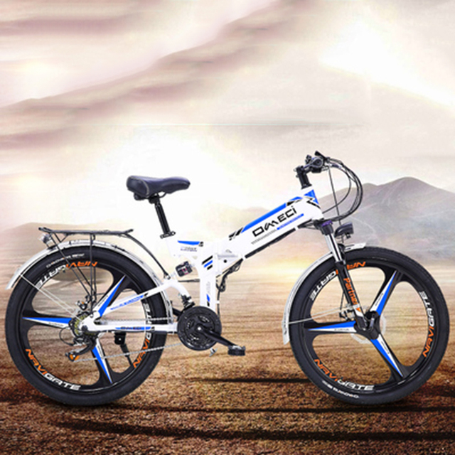 Новый электрический велосипед 21 Скорость 10AH 48V Алюминий сплава для электрического велосипеда встроенный литий-ионный Батарея дорожный Эле...