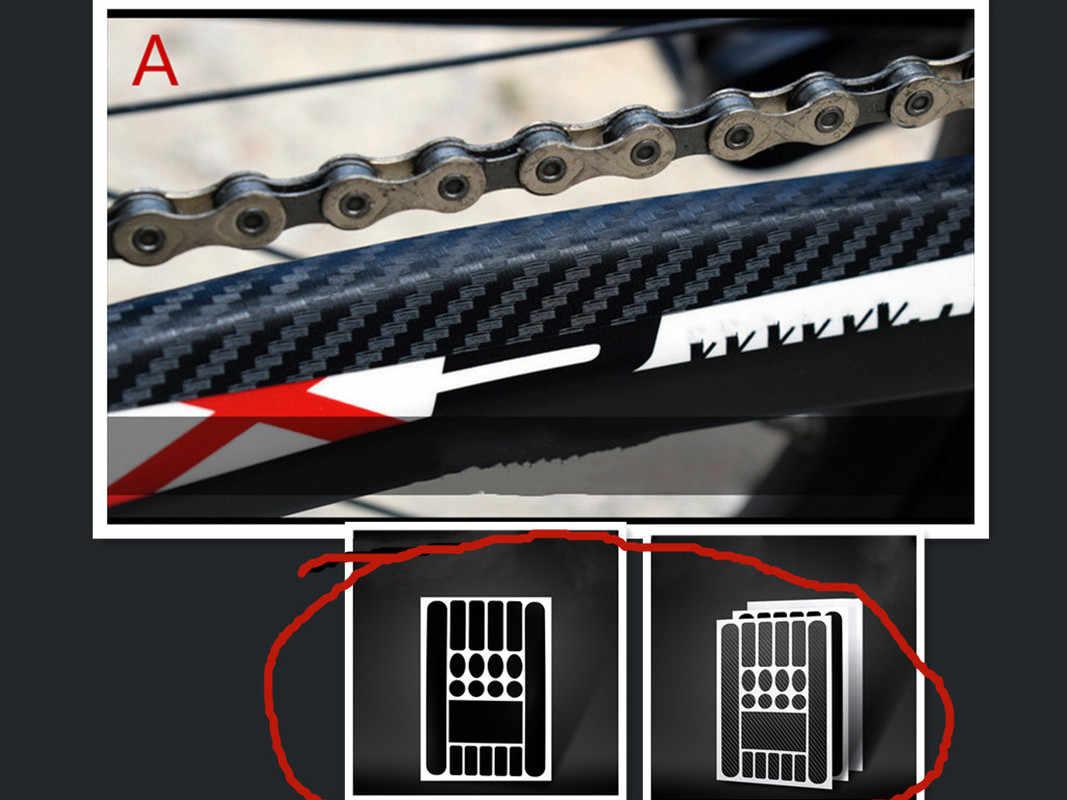 Support vélo autocollants peinture Protection Film protéger Kit vélo accessoires cyclisme vélo autocollants autocollants vélo cadre autocollant