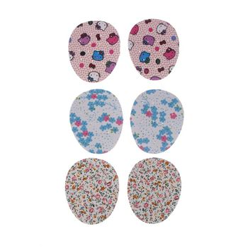 1Pair Flower Printed Half Insoles Forefoot Shoe Pad High Heel Breathable Cushion Comfort Shoe Pad image