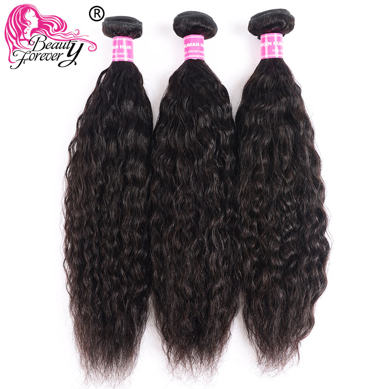 Beauty Forever Super Wave Brazilian Hair Weave 3 Bundles 100% Remy Human Hair Weaving Natual Color 8-326 Inch Hair Free Shipping