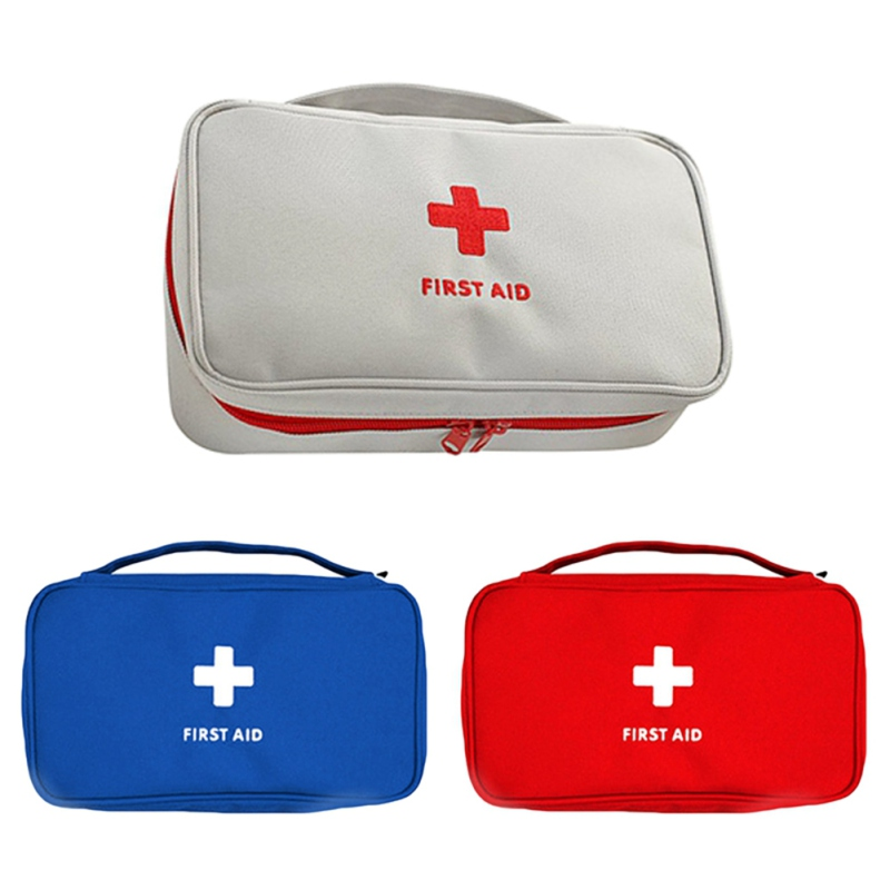 Outdoor First Aid Kit Emergency Medical Box Portable Travel Camping Survival Medical Bag Big Capacity Home/Car