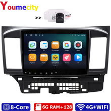 Car Multimedia-Player Mitsubishi Lancer Radio Bluetooth Eight-Core/android 2008 for