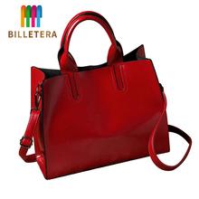 BILLETERA torebki skórzane duże torebki damskie wysokiej jakości torebki kobiece torebki damskie 2020 nowe modne torebki damskie tanie tanio Na co dzień torebka Torby na ramię Na ramię i torebki zipper SOFT NONE Moda Handbag 888 Poliester Versatile WOMEN Stałe