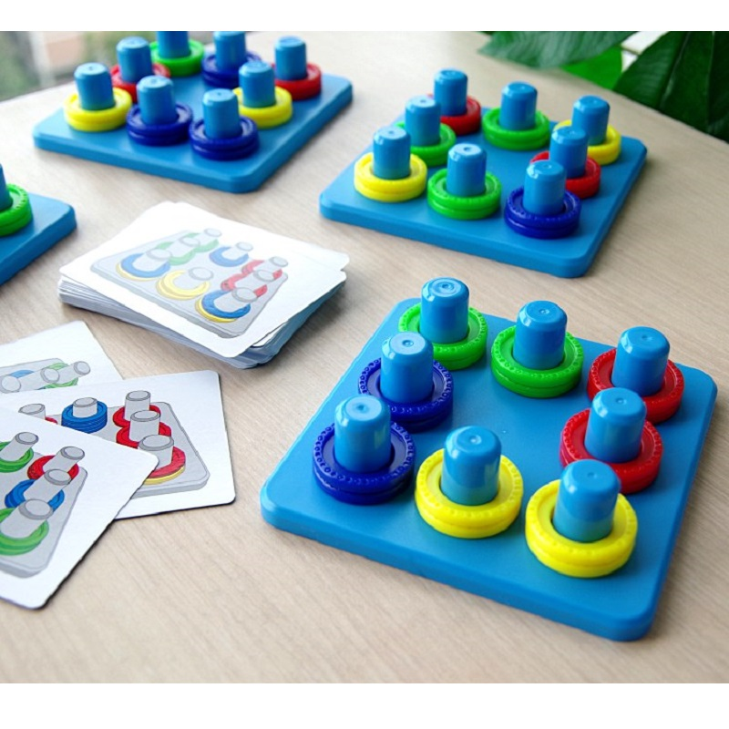 Creative Color Matching Toy Parent-child Interaction Reaction Concentration Training Children Early Education Party Board Game