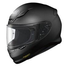 Casque de moto complet Z7, noir mat, pour Motocross, course