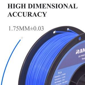 Image 2 - Matériel de Filament dimprimante 3D de PLA de la soie 1.75mm de Filament de PLA pour limprimante 3D Filamento PLA dimpression 3D