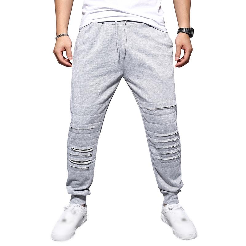 Men Casual Gym Training Jogging Sport Track Sweat Pants Bottoms Hip Hop Trousers