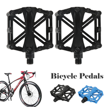цена на Mountain Bicycle Ultra-light Pedal Bike Bicycle Pedals Aluminum Alloy  Road Bike MTB Bearing Pedals Riding Bicycle Bike Parts