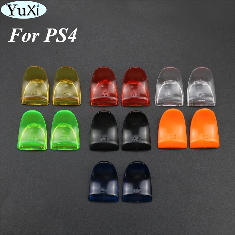 YuXi 1 Pair L2 R2 Triggers Extender Buttons Kit For PlayStation 4 PS4 S/PS4 Slim/PS4 Pro Game Controller Accessories image