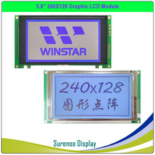 Original / Replacement for WG240128A TLX 1741 C3M NHD 240128WG ATFH VZ 240128 240*128 Graphic LCD Module Display Screen Panel