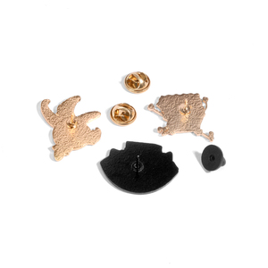 QIHE ювелирные изделия, эмалированные булавки в виде героев мультфильма «мой лучший друг», броши в виде морской звезды, значки, подарки, памят...