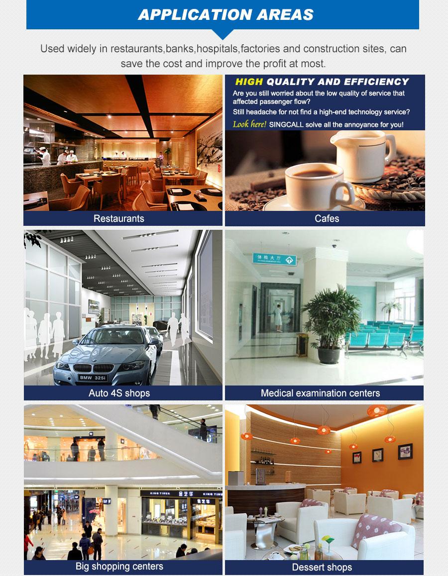 Простая Беспроводная очередь, система, используемая в ресторанном кафе, авто 4S, магазин, медицинский смотровой центр, кондитерская, большой торговый центр
