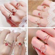 Корейское модное женское весенне летнее Открытое кольцо dongdaemun
