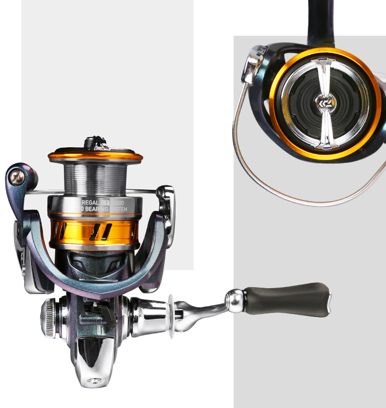 5,2:1 Ratio NEW Daiwa Regal Light Spinning Reel 2000 Taille 9BB rglt 2000D