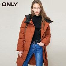 가을 겨울 여성 다운 재킷 중반 롱 코트 파카 의류 | 118312522