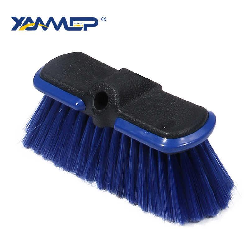 فرشاة غسيل السيارات نافذة ممسحة أدوات تنظيف زجاجة رغوة تدفق المياه اكسسوارات السيارات تنظيف عجلة مقبض طويل Xammep