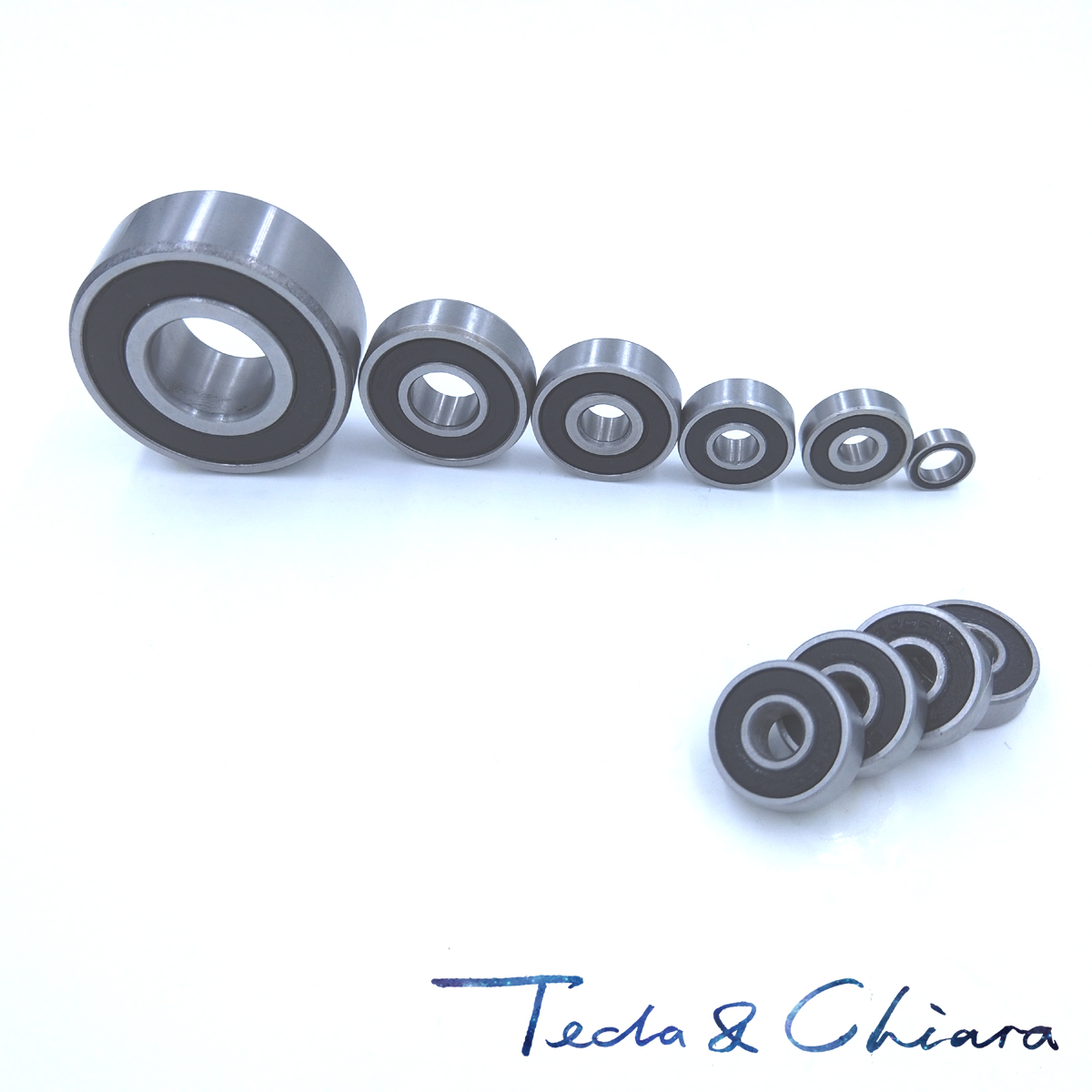 2Pcs <font><b>6202</b></font>-<font><b>2RS</b></font> 6202RS 6202rs <font><b>6202</b></font> rs Deep Groove Ball Bearings 15 x 35 x 11mm Free shipping High Quality image