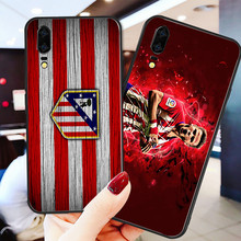 Yinuoda Phone Case For Atletico Madrid FC Saul Black Soft TPU For Huawei DIY Picture Cover Mate10 P20 P8 P9 Honor 9 8 Lite P30(China)