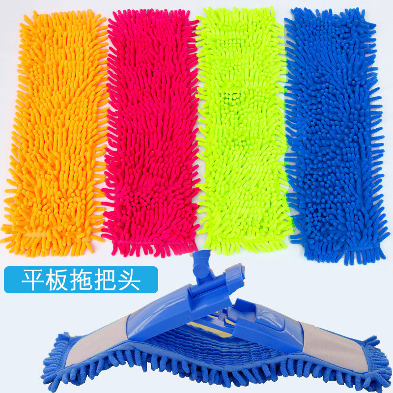 Clever Mop Head Replacement Home Cleaning Pad Chenille Refill Household Dust Mop Head Replacement Suitable For Cleaning Floor New