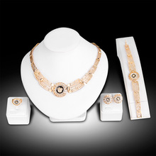 Classic  lions head jewelry sets, alloy necklace bracelet ring earrings hot selling sets