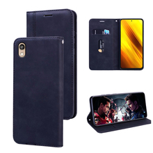 For Huawei P20 Lite P30 Pro Luxury Vintage Business Flip Wal