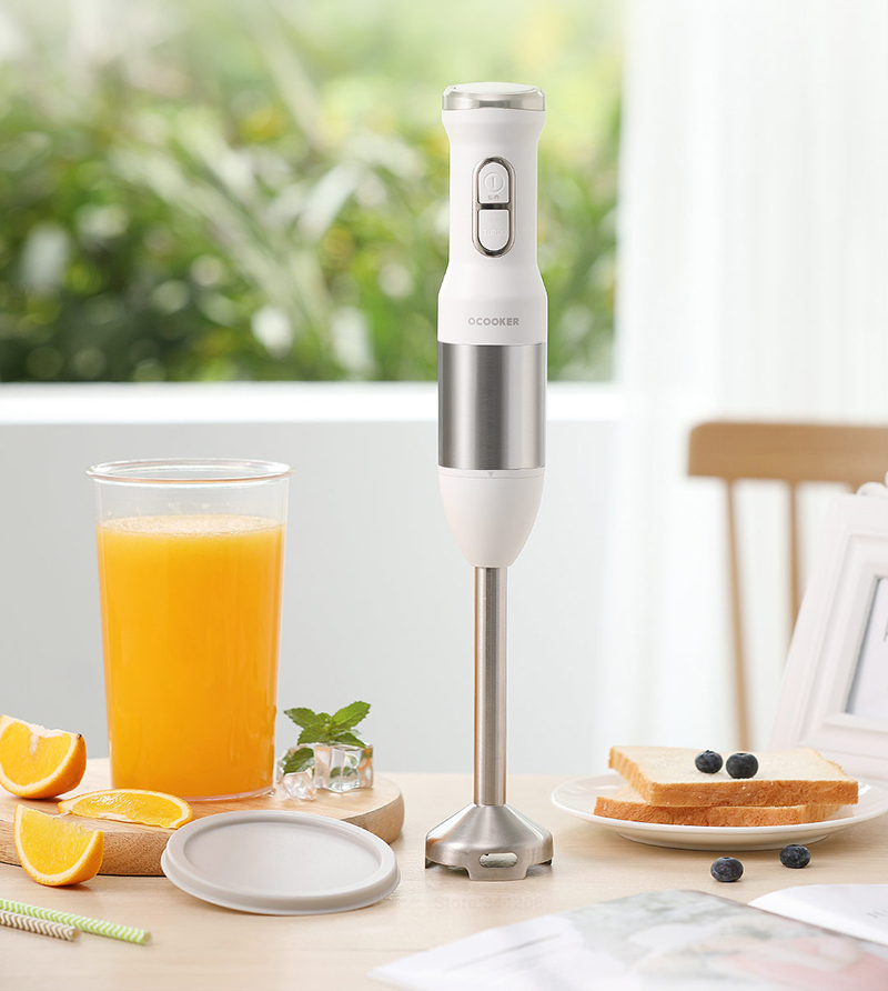 H814e4876210e497e832edfb9b5d5534eP XIAOMI MIJIA QCOOKER CD-HB01 hand Blender Electric Kitchen Portable Food Processor mixer juicer Multi function Quick Cooking