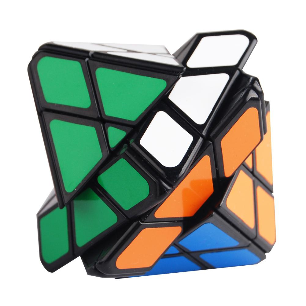 Hobbylane LanLan Octahedron 4x4x4 - Black Body (difficulty 9 Of 10)
