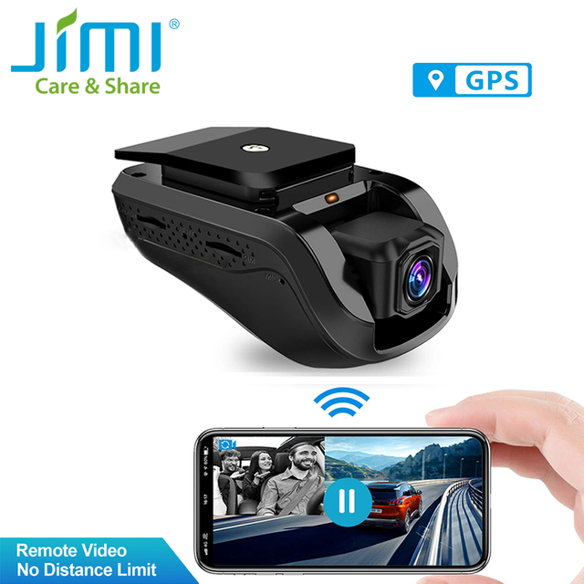 Jimi JC100 3G Dash Cam Dual DVR Car Video Tracking & Monitor by APP WIFI Live Stream Car Alarm with Google Map Car DVR Camera