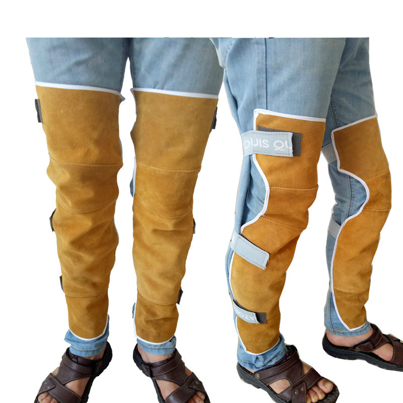 Welding Foot Protection, Leg Protection, Knee Protection, Leather, Wear-resistant And Heat-insulating Foot Cover, Foot Cover