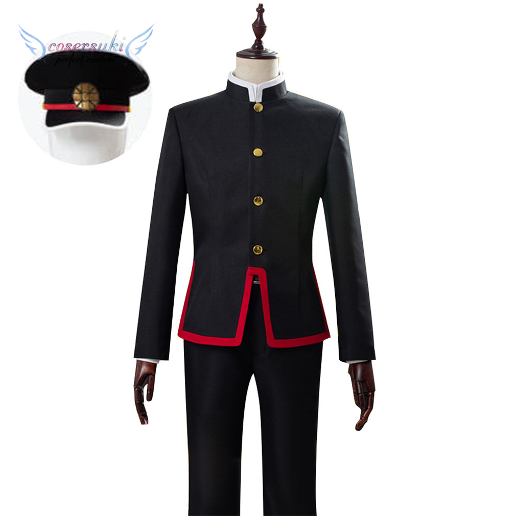 Toilet-bound Jibaku Shounen Hanako-kun Hanako Kun Cosplay Costumes Cosplay Coat, Perfect Custom For You !