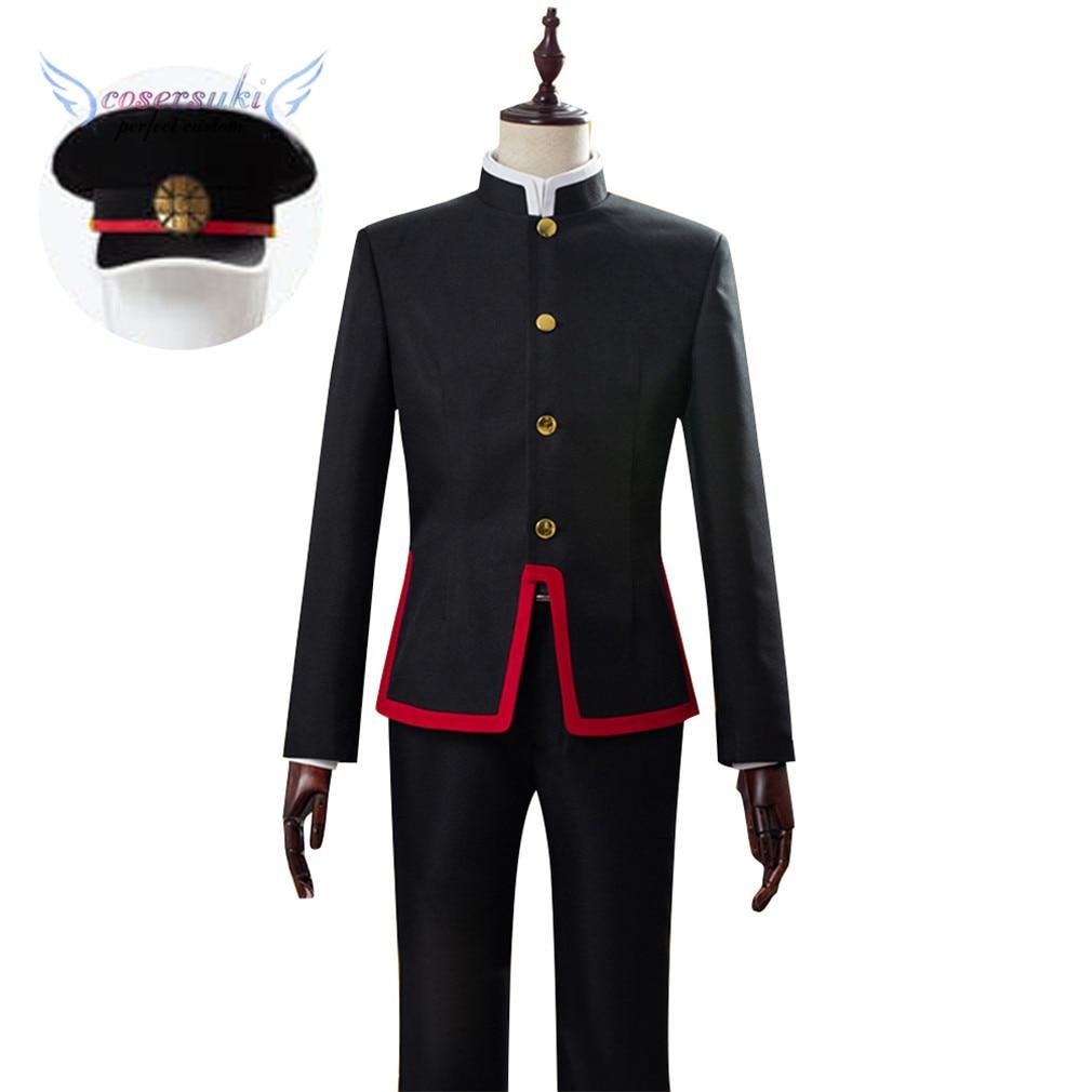 Toilet-bound Jibaku Shounen Hanako-kun Hanako Kun Cosplay Costumes Cosplay Coat, Perfect Custom For You !