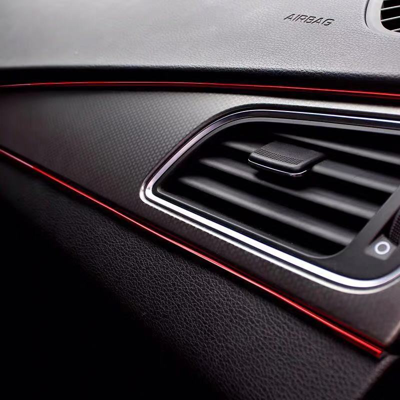 >Car Central Control <font><b>Door</b></font> <font><b>Decoration</b></font> <font><b>Dashboard</b></font> Strip For Ford Focus 2 1 Fiesta Mondeo 4 3 Transit Fusion Ranger Mustang KA S-max