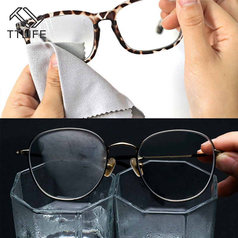Cloth-Lens Glasses Eyewear-Accessories Traces Texile-Clean TTLIFE for Without