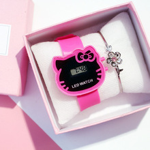 Cute LED Children Watches Girls Best Selling Cartoon Kid Dig